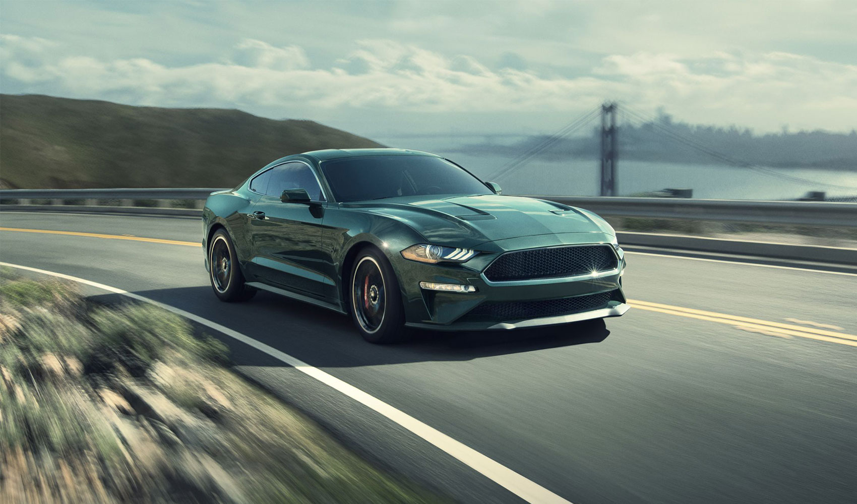 The new Steve McQueen-approved Ford Mustang Bullitt